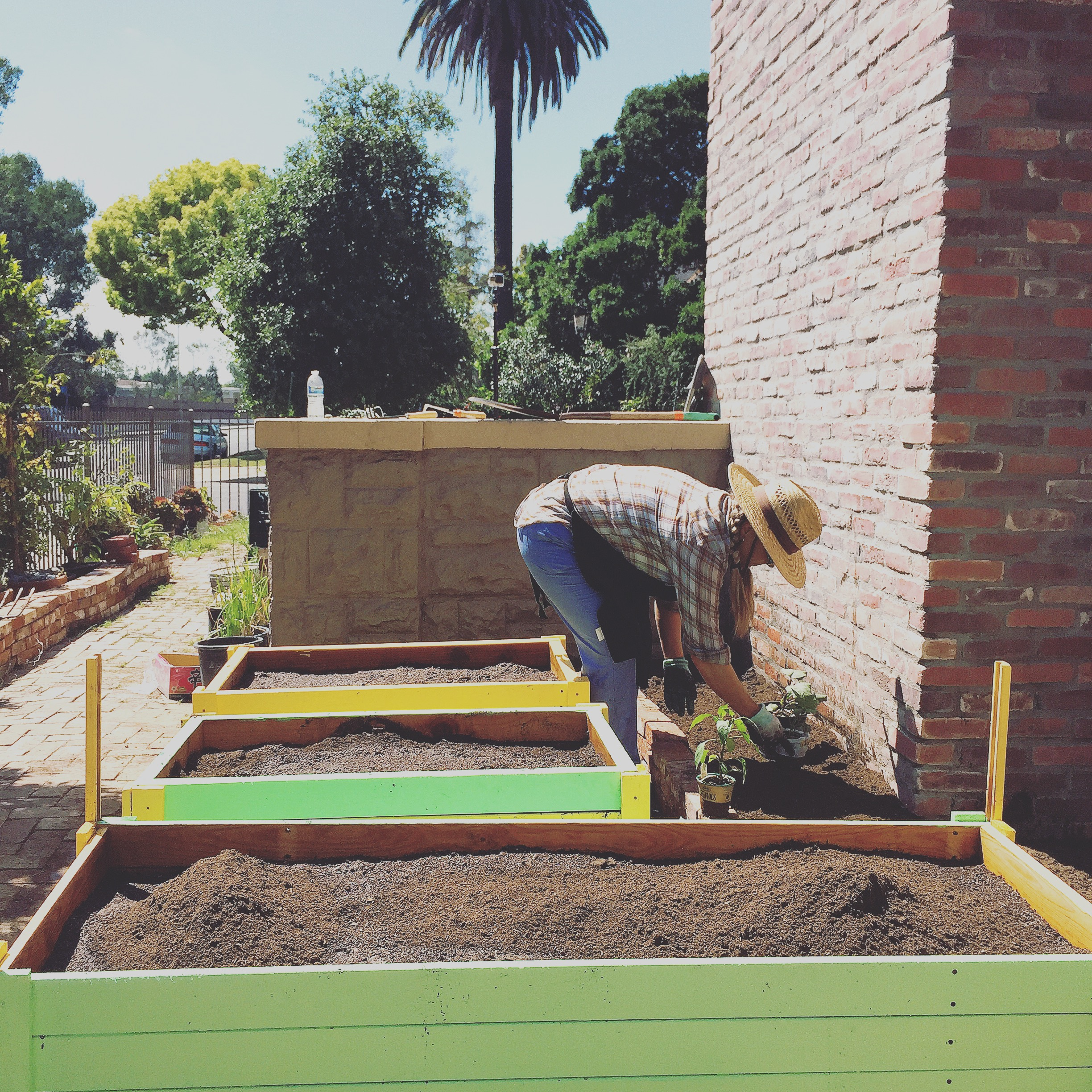 Time lapse of making the Raised beds