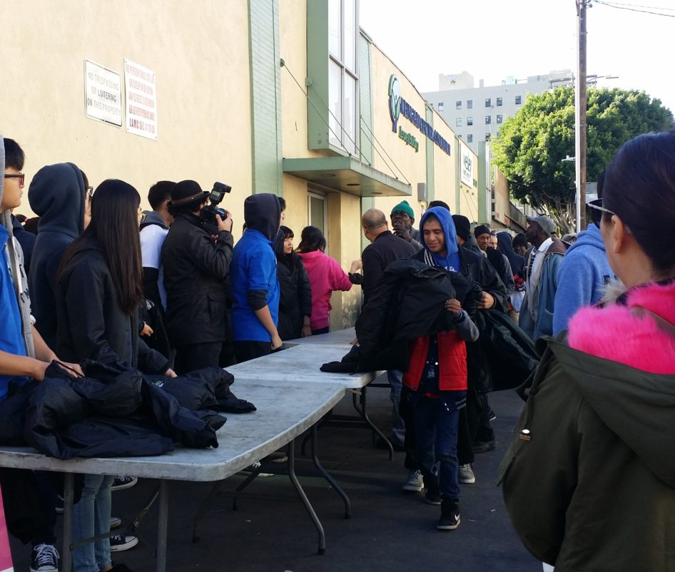 Winter Jacket Distribution for Homeless